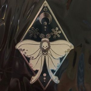 Owlcrate November enamel pin